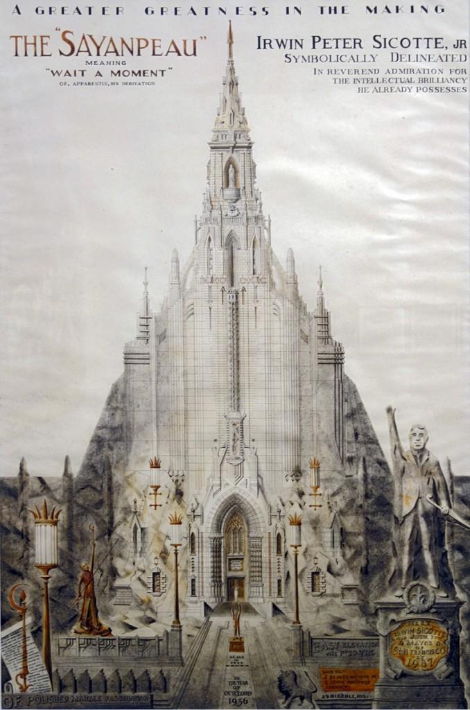 Achiles Rizzoli - The Sayanpeau 1936