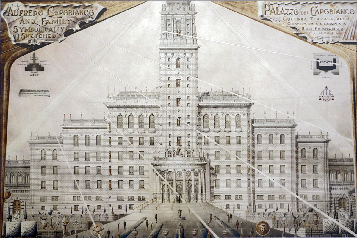 Achiles Rizzoli - Palazzo del Capobianco 1936
