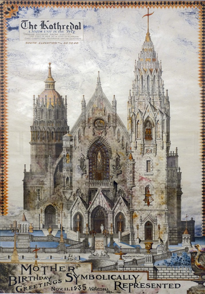Achile Rizzoli - The Kathedral 1935