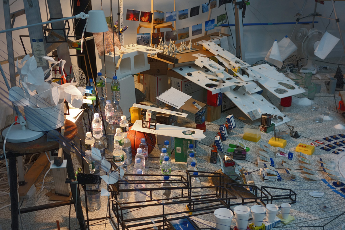 Sarah Sze - Triple Point - US Pavilion 2013 Venice Biennale.
