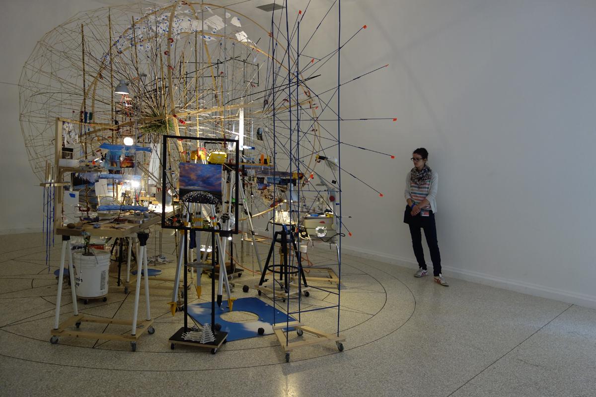Sarah Sze - Triple Point - US Pavilion 2013 Venice Biennale.