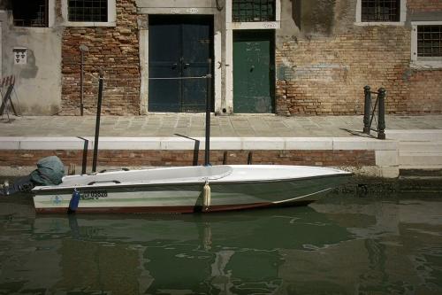 Barque à l'escalier