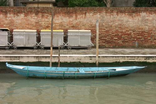 Barque turquoise