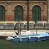 Barque bleu aux Trois Grilles