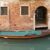 Barque noire filets