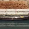 Barque patinée